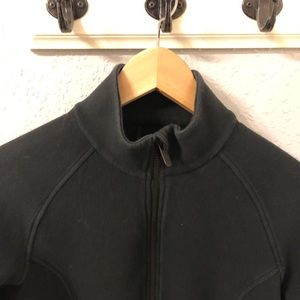 LULULEMON Black Bomber Jacket Size 6